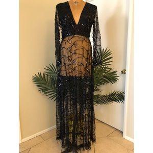 PrettyLittleThing Valentina Maxi Dress